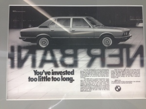 BMW 1980s advertising