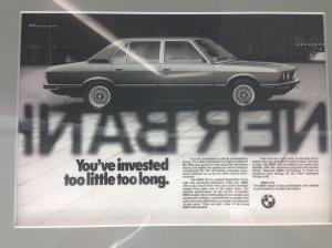 BMW 1980s advertising